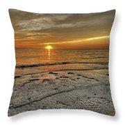 Witness - Florida Sunset Throw Pillow