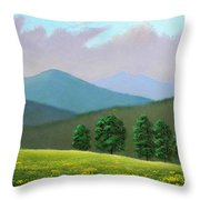 Witness Trees In Spring Throw Pillow
