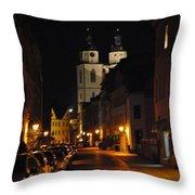 Wittenberg Night Throw Pillow