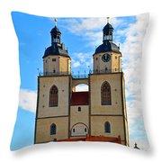 Wittenberg Sky Throw Pillow
