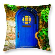 Wizard Of The Forest Throw Pillow