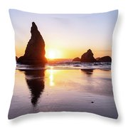 Wizard Reflections Throw Pillow