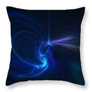 Wizards Aura Throw Pillow