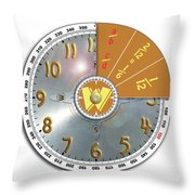 Wizzard Wheel Throw Pillow