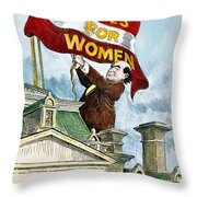 W.j. Bryan Cartoon, C1915 Throw Pillow