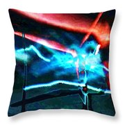 wmill - Forces Throw Pillow