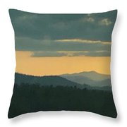 Wnc Sunsets Throw Pillow