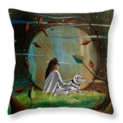 Wonderous Stories Throw Pillow
