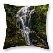Wodospad Kamienczyka Throw Pillow