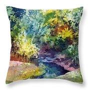 Wolf Pen Creek Throw Pillow