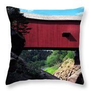 Wolfe River  Throw Pillow