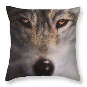 Wolfrick Throw Pillow