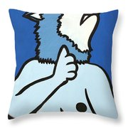Wolve Throw Pillow