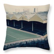Wolverhampton - Molineux - Molineux Street Stand 2 - Leitch - 1970s Throw Pillow