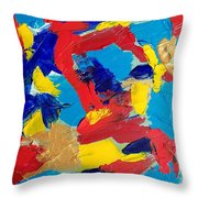 Woman Of Wonder Throw Pillow