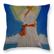 Belle Creole I Throw Pillow