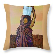 Woman's Worth - 1 Throw Pillow