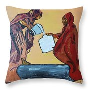 Woman's Worth - 3 Throw Pillow
