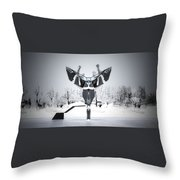 Women Choky Throw Pillow