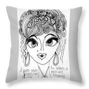 Women Of Faith 4 Throw Pillow