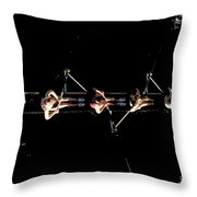 Women Rowing Throw Pillow