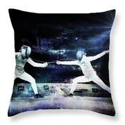 Women's Foil Throw Pillow