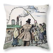 Womens Rights, 1915 Throw Pillow