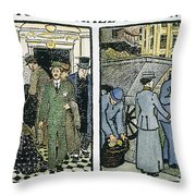 Womens Rights, C1910 Throw Pillow