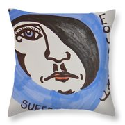 Women's Rights Throw Pillow