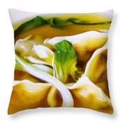 Won Ton Throw Pillow