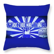 Wonder Bar - Sign Throw Pillow