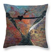 Wonder Of Life Throw Pillow