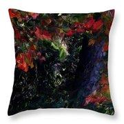 Wonder Tree Detail 2 Throw Pillow