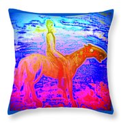 Wonder Where We Are And How We Got There  Throw Pillow