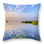 Wonderful Morning IIi Throw Pillow