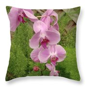 Wonderful Orchid Throw Pillow