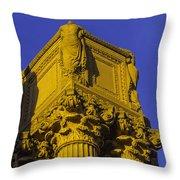 Wonderful Palace Of Fine Arts Throw Pillow