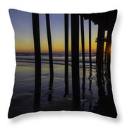 Wonderful Pismo Sunset Throw Pillow