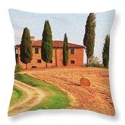 Wonderful Tuscany, Italy - 02 Throw Pillow