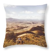 Wonderful West Coast Tasmania Views Throw Pillow