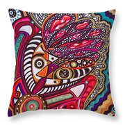 Wondering What's Next - Vii Throw Pillow