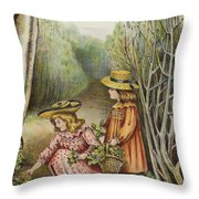 Wont They Be Pleased With These Beauties Throw Pillow