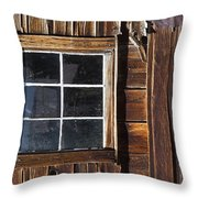Wood And Window Throw Pillow