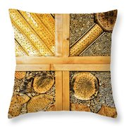 Insect Hotel #1 Throw Pillow
