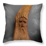 Wood Nymph II Throw Pillow