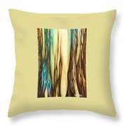 Wood On The Inside Throw Pillow