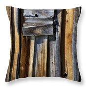 Wood On Wood Throw Pillow
