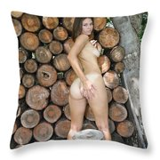 Wood Shed 261 Throw Pillow