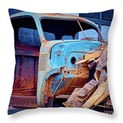 Wood Supply Throw Pillow