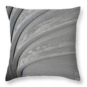 Wood Swirl Throw Pillow